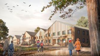 Turako tecknar 20-årigt hyresavtal och Internationella Engelska skolan planerar att öppna portarna hösten 2021 i Stadsängarna