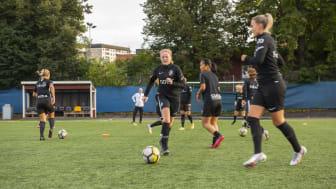 Tyras Drömmöte – fick träna med idolerna i AIK och hyllades av blivande förbundskaptenen