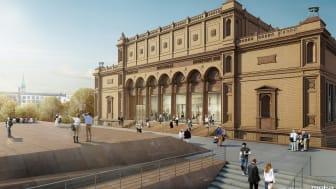 Modernisierung der Hamburger Kunsthalle abgeschlossen (Copyright: Hamburger Kunsthalle Foto: Jann Wilken)