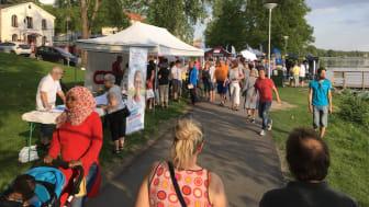 LindeDagen 2020 kommer att som tidigare arrangeras efter Strandpromenaden i sjöstaden Lindesberg.