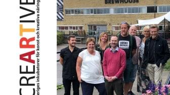 Sveriges inkubatorer för konstnärliga och kreativa näringar samlade på Brewhouse Kulturfabrik i Göteborg för att bilda den nya intresseorganisationen creARTive