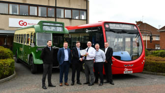 (L-R) Operations Director Gary Edmundson, Commercial Director Stephen King, Managing Director Martijn Gilbert, Head of Network Analysis Andrew Tyldsley, Engineering Director Colin Barnes and Finance Director Paul Edwards