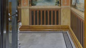 Dekormålning - troligtvis från Italien