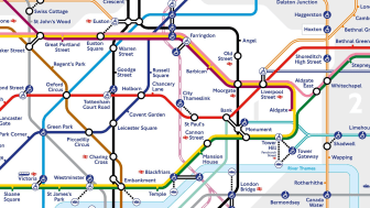 Thameslink traverses the Tube map: supporting safe travel through central London