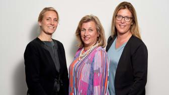 Anna Omstedt, Viveca Hansson Gidlund och Sara Banegas tar plats i Praktikertjänsts styrelse.