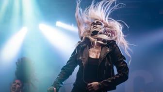 Scarlet från Uppsala uppträder på Nemis-scenen på Sweden Rock Festival 2019. Foto: Josefin Larsson