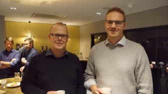 På bilden: Magnus Edin och Jesper Eman, grundare Centropy. Foto: Sarah Gotthold