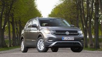 T-Cross har opnået topkarakter i Euro NCAP's kollisionstest og kan matche sikkerheden i større biler