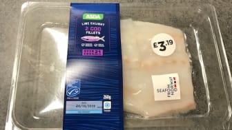 Norsk torsk i britiske dagligvarekjeder