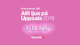 Wallenstam stolt partner till Allt ljus på Uppsala.