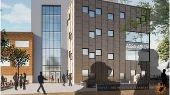 Ny byggnad ASSA ABLOY Opening Solutions i Eskilstuna