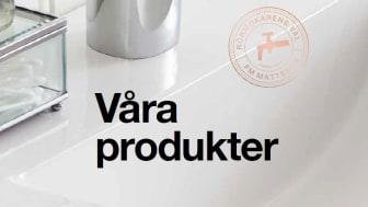 Våra produkter - ny samlingsbroschyr