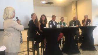 Debatt om grønne bygg på Arendalsuka 2017.