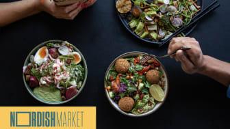 foodora öppnar virtuell matmarknad tillsammans med Nordish Market