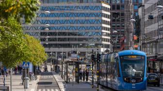 Vasakronan satte nytt utmanande klimatmål 2019, och det är att företaget ska bli klimatneutralt i hela värdekedjan till 2030. På bilden Sergelhuset i Stockholm.