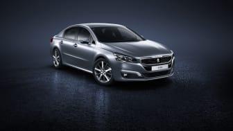 Peugeot 508 sedan fram_sida