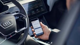 Ladda ner Matrix LED-strålkastare till Audi e-tron i vinter med Functions on demand