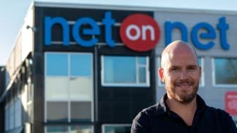 Martin Richardsson, ny E-handelschef på NetOnNet                                    Foto: Oliver Lia