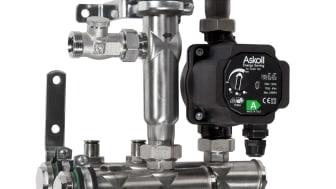 Thermotechs minsta shunt blir  energieffektivare - storsäljaren TMix S uppgraderas med A-klassad cirkulationspump