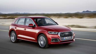 Nya Audi Q5 får toppbetyg i Euro NCAP