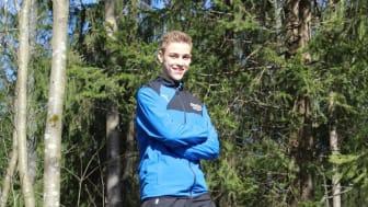 Omar Harb käy lukion ensimmäistä luokkaa, ja valtaosa vapaa-ajasta kuluu taekwondon parissa.