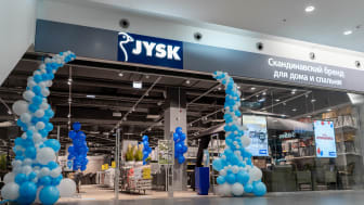 First JYSK store in Russia (Troyka Moscow)