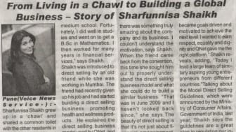 From Living in a Chawl to Building a Global Business - Story of Sharfunnisa Shaikh