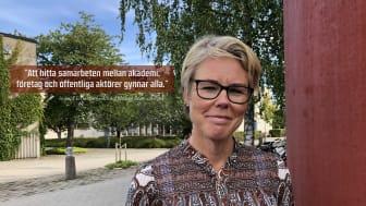 Ingela Ernestam, profilområdesansvarig för Hälsa, vård och omsorg vid Alfred Nobel Science Park.