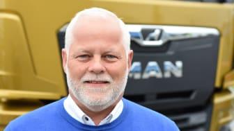Peter Poulsen - Ny filialchef i MAN's hovedafdeling i greve