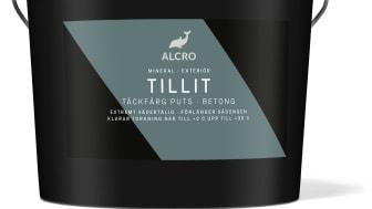 Alcro Tillit - ny vädertålig putsfärg