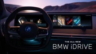 Ny generation af BMW iDrive giver en fuldendt brugeroplevelse