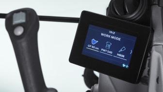 Volvo ECR58 - ny display packad med funktioner