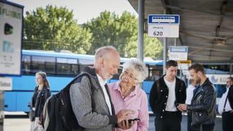 Førtidspensionister kan køre i bus for 1 kr. om dagen