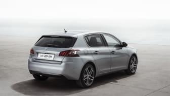 Nya Peugeot 308 - en modern sedan