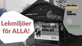 Projektets syfte har varit att göra Alfons Åberg Kulturhus till en mötesplats och verksamhet där alla barn i ännu större utsträckning än idag ges förutsättningar att mötas i leken.
