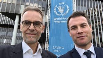 Bengt Grahn, vd Compodium och Marcus Persson, projektledare Business Sweden