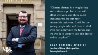 Bury signs up to global climate change movement