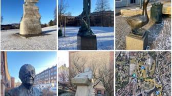 Kunstløype på Tøyen og Kampen