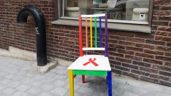 Hiv-Sveriges stol för RFSL och för personer som lever med och berörs av hiv.
