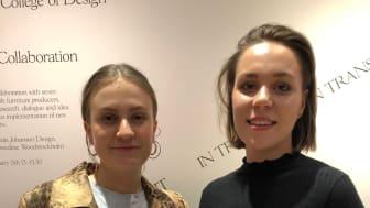 """Form Award """"Årets Nykomlingar"""" till två Beckmansstudenter"""