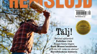 Björn Svantesson på omslaget till Hemslöjd 4/2020. Omslagsfoto: Martin Gustavsson.