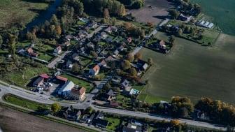 Flygbild över Gårdstånga