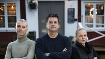 Bild på Örjan Ekblom, Mats Börjesson och Elin Ekblom Bak