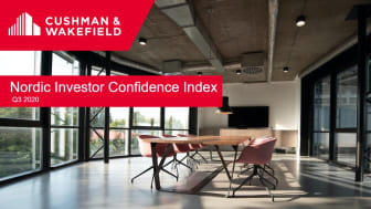 Returning investor confidence throughout the Nordics