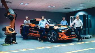 """Audi och Hager bidrar till klimatmålet: """"Ladda hemmet med elbilen"""""""