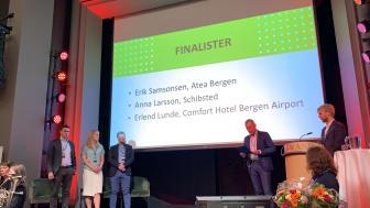 Hotelldirektør topp tre i lederkåring i Bergen