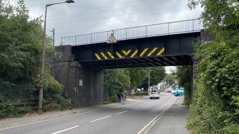 Network Rail will undertake major repairs to Cuffley railway bridge this autumn and winter