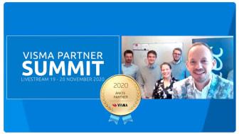 Visma utser Exsitec till Årets partner för tredje året i rad