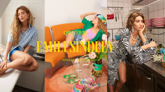 Colourful summer collection in a new design collaboration with fashion profile Emili Sindlev