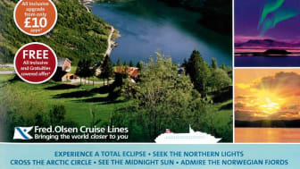 Experience a 'Scandinavian Adventure' in 2015 with Fred. Olsen Cruise Lines